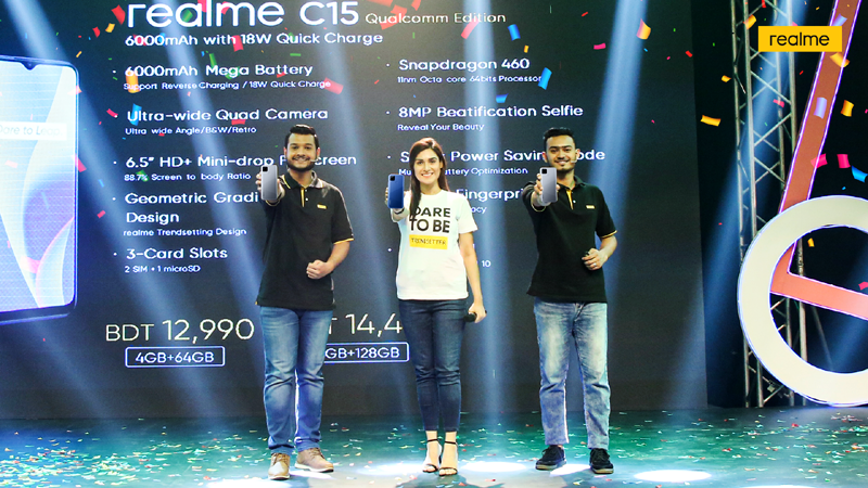 realme launches C15 Qualcomm Edition with 6000mAh battery and 18W Quick Charge