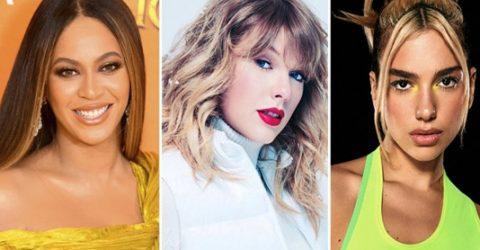 Pop on top as Beyonce, Taylor Swift, Dua Lipa lead Grammy nods
