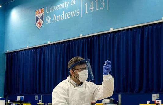 Scotland begins student virus tests before Christmas