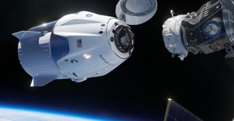 "SpaceX Crew Dragon ""Resilience"" docks with ISS"