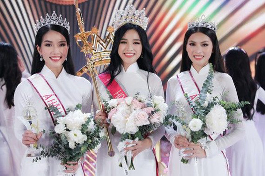 University student crowned Miss Vietnam in beauty contest