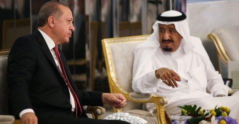 Erdogan, Saudi king agree to enhance ties