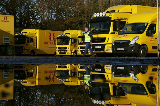 As Brexit looms, British hauliers fear bumps in the road