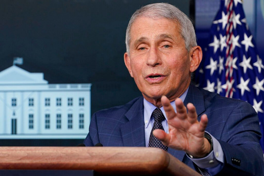 Fauci says Pfizer, Moderna Covid vaccine data is 'solid'