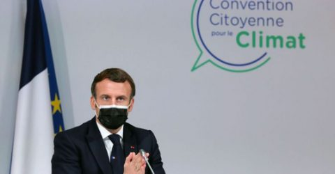 Macron plans referendum to add climate clause to constitution