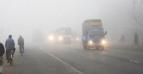 Mild cold wave sweeps country's different parts