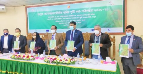 Multi-sectoral district annual nutrition action plan 2020-2021 workshop held in Rangpur