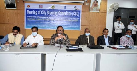 Steps taken to improve living condition of slum people