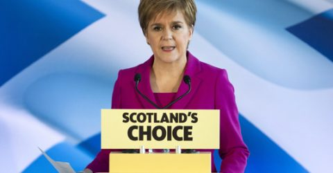 Scotland's Sturgeon calls for new independence vote in 2021