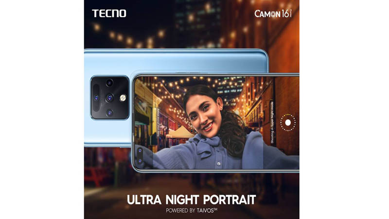 TAIVOS™ Lab Brings CAMON 16 Premier an Unparalleled Night Shot Experience