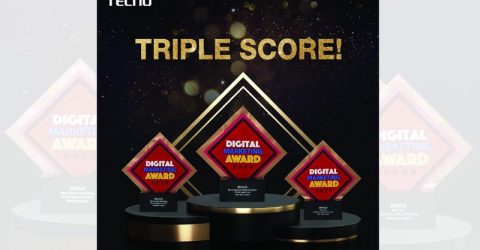 TECNO's triple win in Digital Marketing Awards 2020