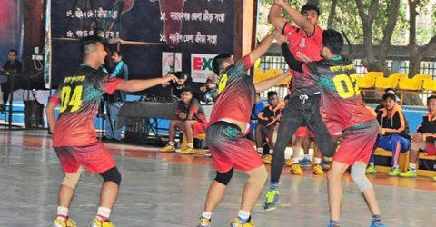 Police, Ansar reach final of National Men's Handball