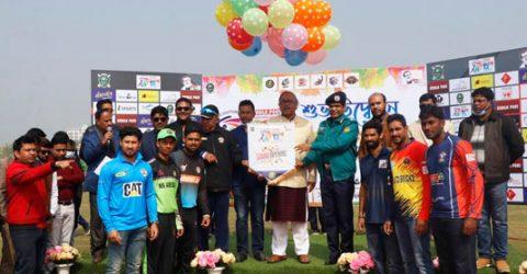 Bangabandhu Goldcup T-20 cricket tournament begins in Rajshahi