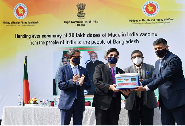 Gift of vaccine marked as Hasina-Modi strong relation: Momen