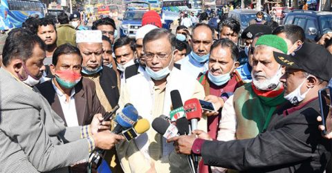 BNP habituated to complaining before elections: Hasan