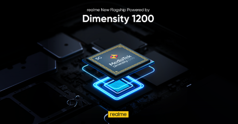 realme to release flagship equipped with MediaTek's Dimensity 1200 chip