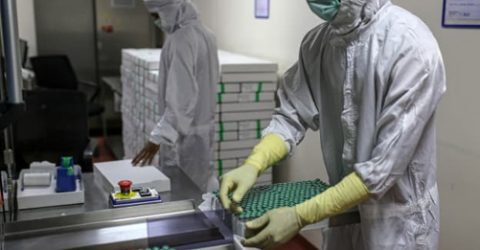 Vaccine giant says told to prioritise India