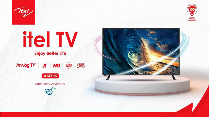 itel Launches its First TV Product in Bangladesh