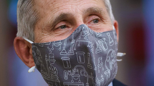 Americans could still need to wear masks in 2022: Fauci