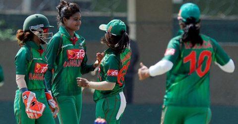 Women's team starts training for Bangladesh Games