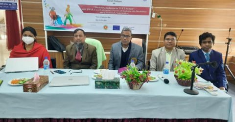 Thrust for bringing the persons with disabilities under TVET system in Gaibandha