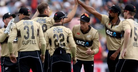 Guptill run-fest sets Australia tough T20 target