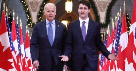 Biden, Trudeau go online for US-Canada bilateral