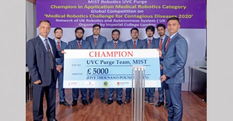 MIST wins global championship in Medical Robotics Competition