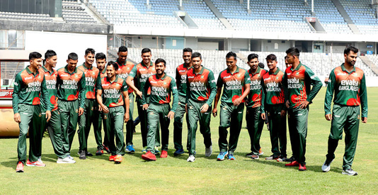 Tigers reach New Zealand for limited over series