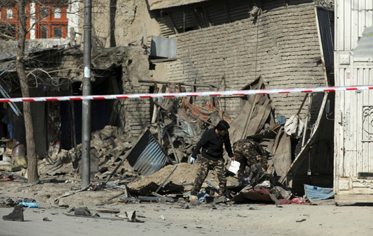 4 killed in separate bomb blasts in Afghanistan