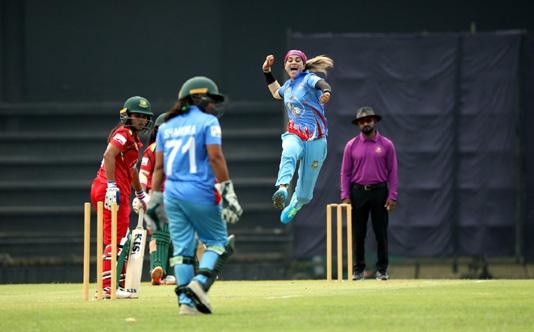 Bangladesh Blue makes winning start in Bangladesh Games