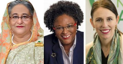 Sheikh Hasina among top 3 Commonwealth inspirational women leaders