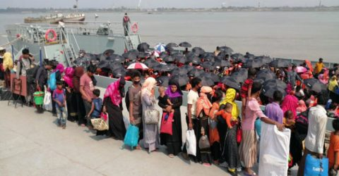1,759 more Rohingyas reach Bhasan Char from Ctg