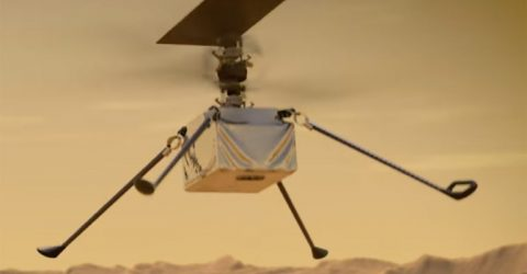 NASA's Ingenuity helicopter prepares for first flight on Mars