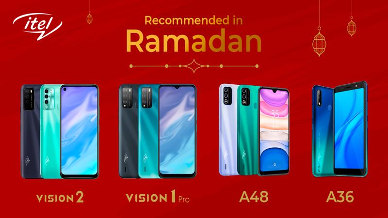 Bestselling itel Smartphones : Recommended in Ramadan
