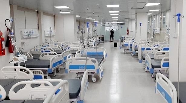 Country's largest Covid-19  treatment hospital inaugurated