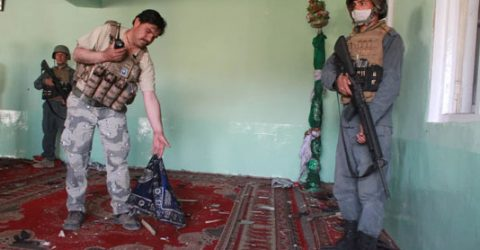 Eight family members killed in Afghanistan mosque shooting