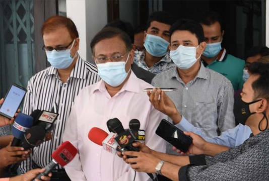 Govt takes steps to bring vaccines from other countries: Hasan