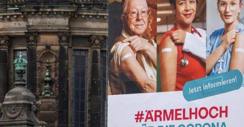 Merkel seizes reins as German states dither over virus