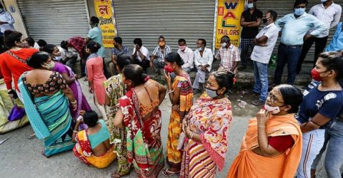 Millions vote in final phase of marathon India poll as virus cases soar