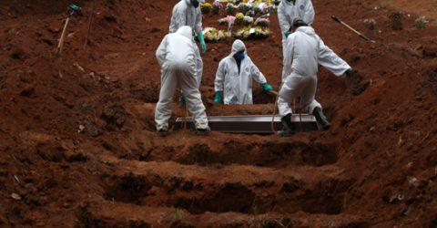 Global Covid-19 deaths reach 3,194,716