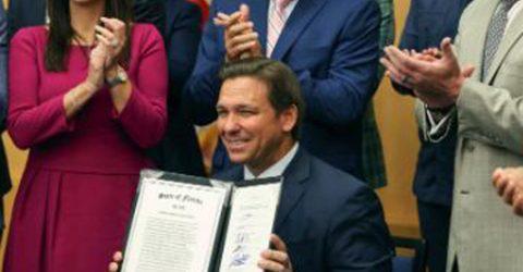 Florida governor signs law barring social media 'censorship'
