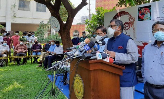 Bangladesh's oxygen  reserve is at 900 MT:  Health Minister