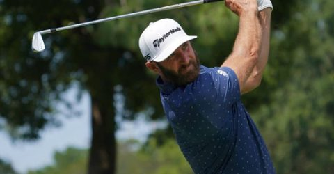 Johnson withdraws from Byron Nelson over knee problem