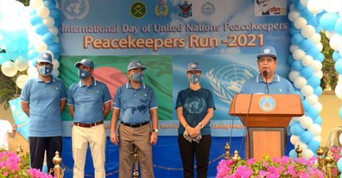 Peacekeepers branding Bangladesh abroad as peace-loving nation: Momen