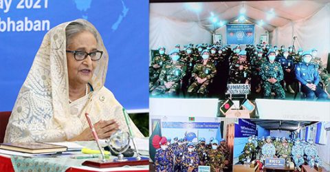 Bangladesh always ready to establish global peace under UN: PM
