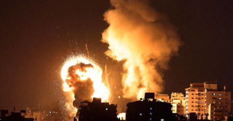 22 killed as Israel strikes Gaza after Hamas rocket barrage