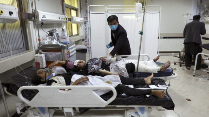 Death toll rises to 50 from blasts near Afghan girls' school