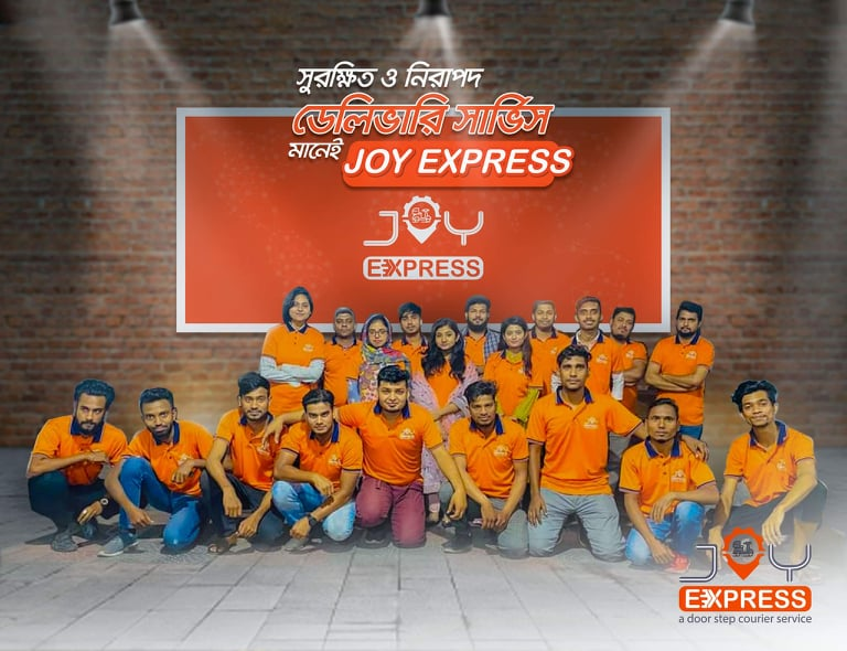 Safe and secure delivery service means 'Joy Express'