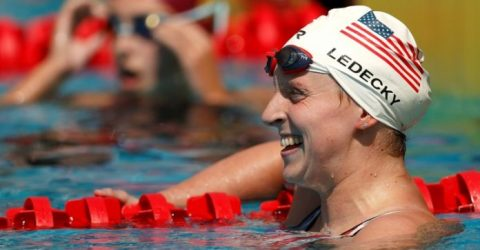 Ledecky, Dressel poised to dominate at US Olympic swimming trials